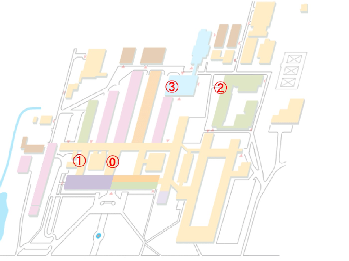 Library Map of Faculty of Engineering